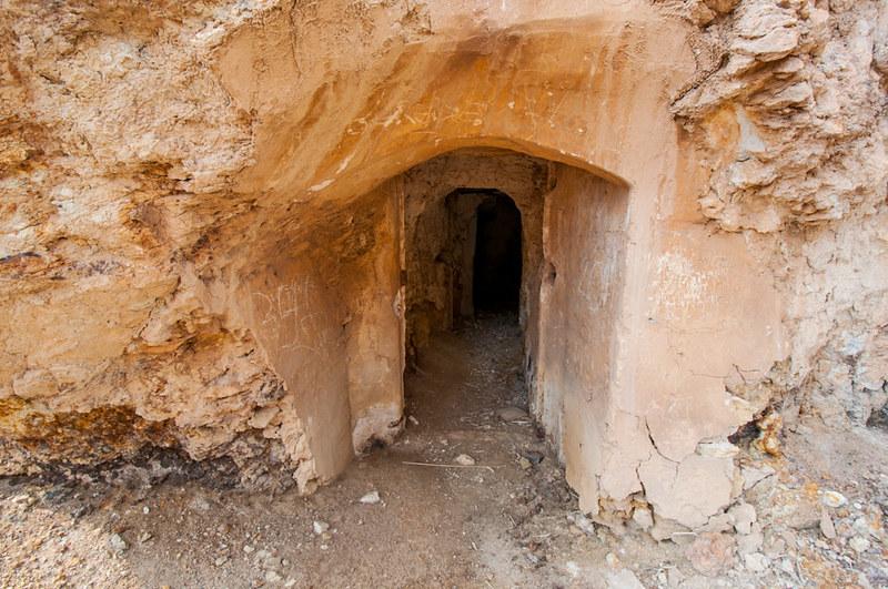 Las minas abandonadas de Mazarrón