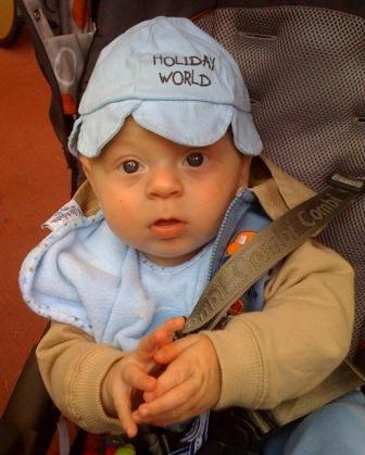 Baby Drew at Disney World