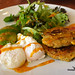 Zucchini and corn fritters @ Food For Me, Victoria Park