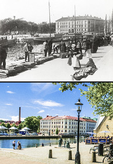 Gothenburg, Inom Vallgraven 1902 / 2013