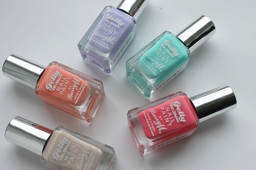 Barry M Gelly Hi Shine Nail Paints