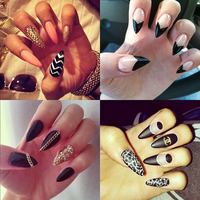 stiletto nails nail art fashion blogger style blogger lover fashion live life joann doan