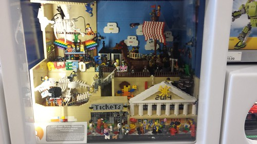 Fashion Valley LEGO Store Community Window