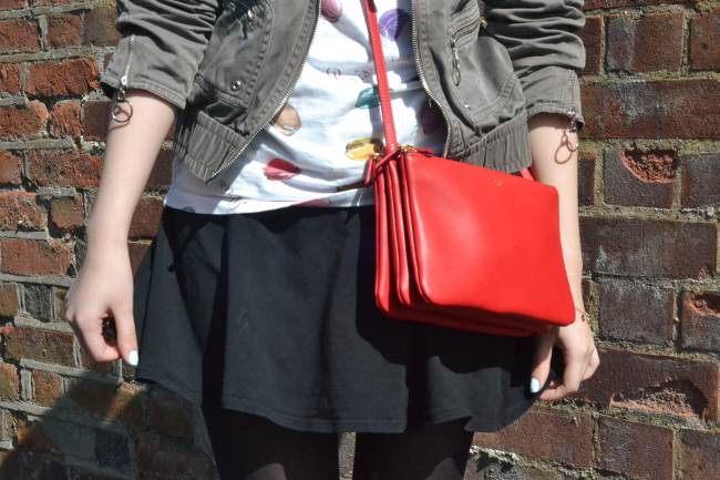 Daisybutter - UK Style and Fashion Blog: what i wore, Celine Trio, ootd