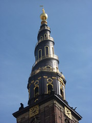 The spiral spire, Vor Frelsers Kirke or Our Saviours Church
