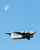 C-17 with Moon by #PACOM