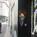rnst pochoir street-art gamin foulard web