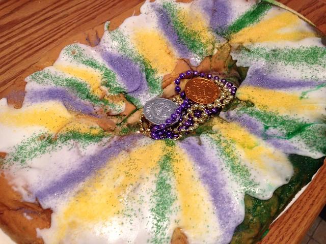 King cake, maradi GRAS, cake