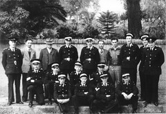 St John Ambulance members 1949.