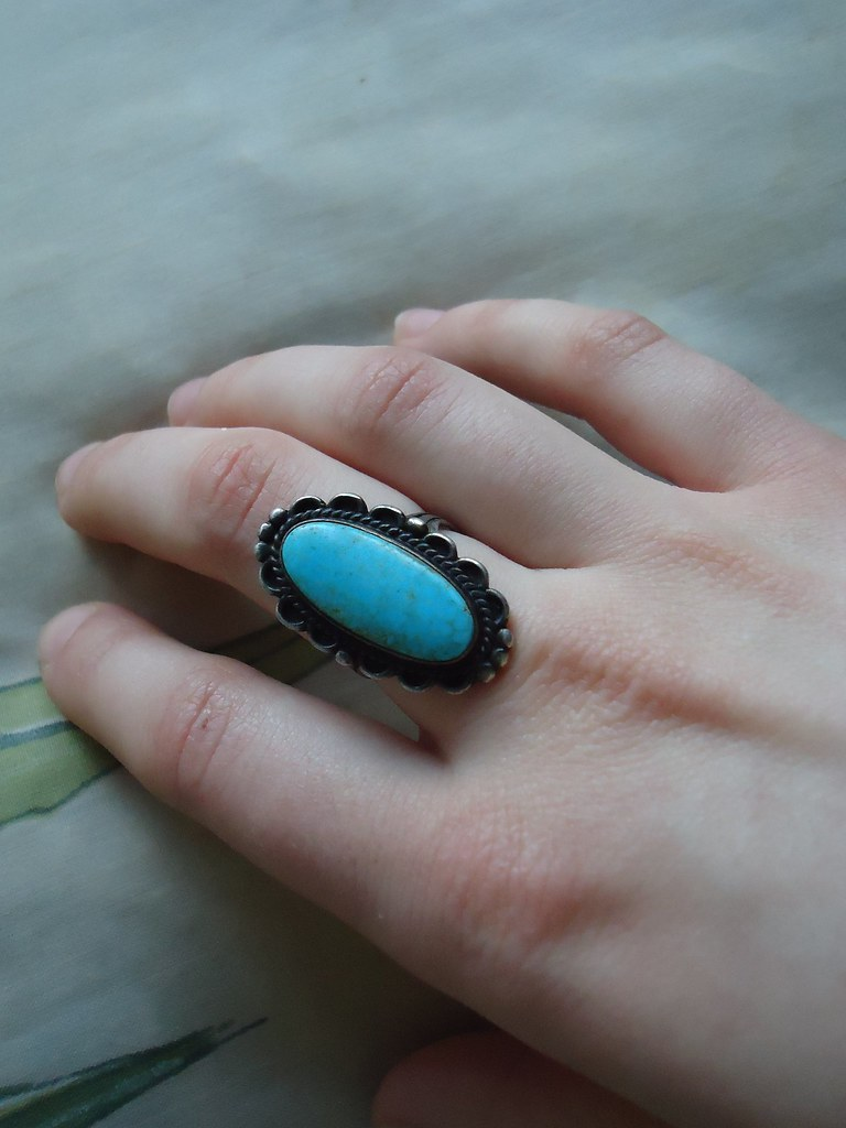 1930s turquoise ring, finally!