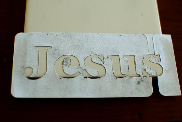 JesusStencil6