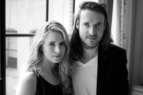 Brit-Marling-and-Mike-Cahill [b&w]