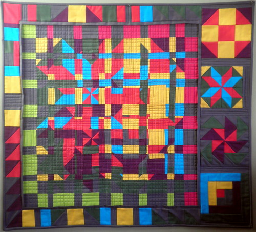 ENTRY for Project QUILTING - Season 3, Challenge 4 - Fractured Barn Quilts