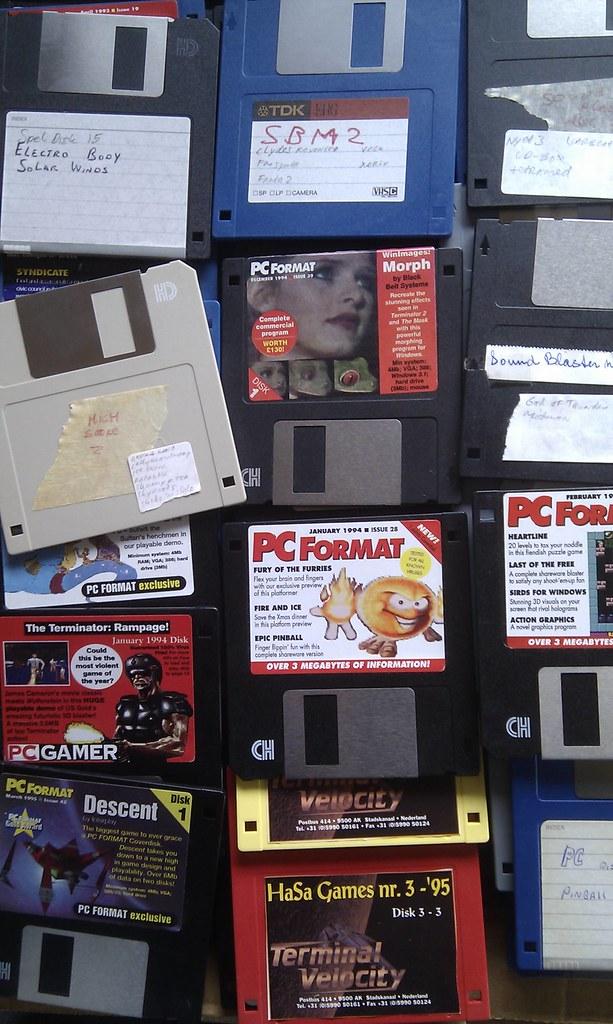 disks #pcgaming #90s #nostalgia