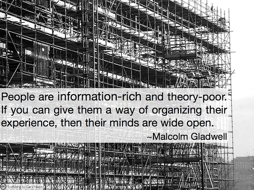 Information-rich and theory-poor