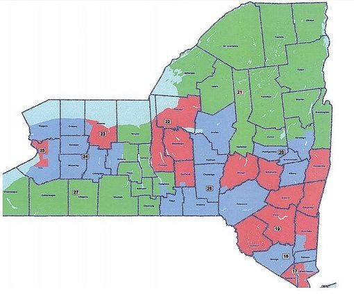 nys 23rd congressional district - 510×430