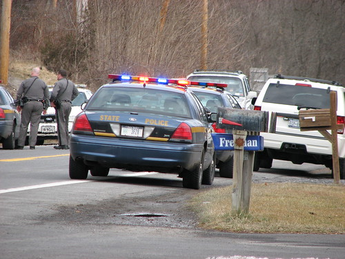 POLICE ON NY 213 IN MARCH 2012