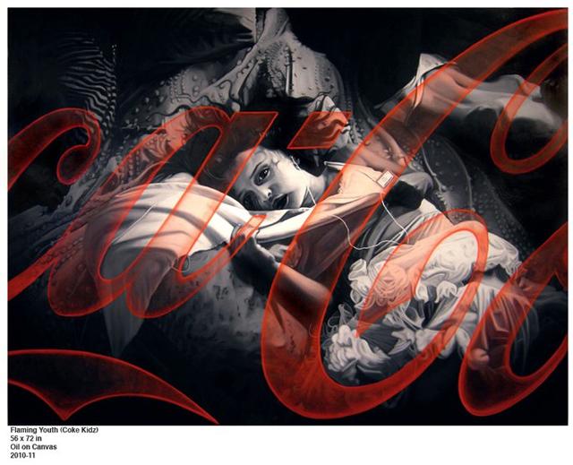 Flaming Youth John Grande art