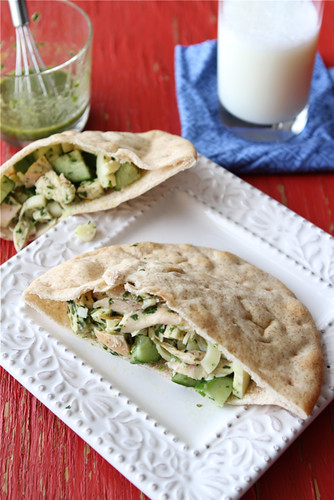 Pita-Sandwich-Recipe-with-Chicken-Hearts-of-Palm-&-Chimichurri-Dressing-Cookin-Canuck