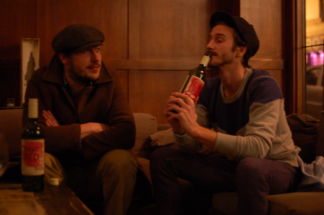 John and Zach of Portugal. The Man