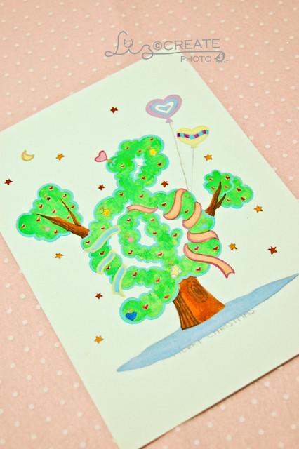 彩稿- 音符聖誕樹
