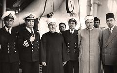 على سطح السفينه - مؤتمر العالم الاسلامي - 16 تموز  1967