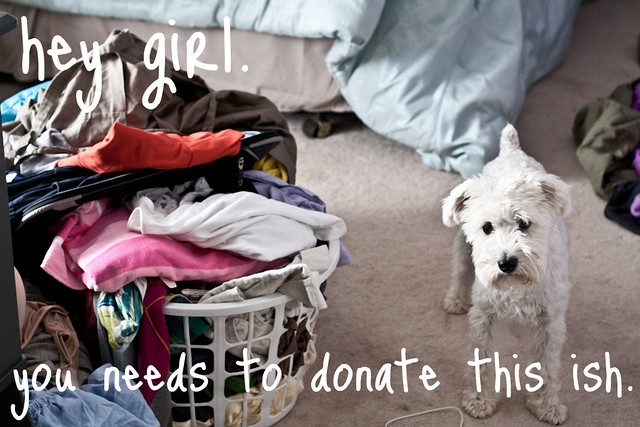 donate clothing