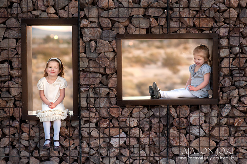 Las Vegas family session downtown