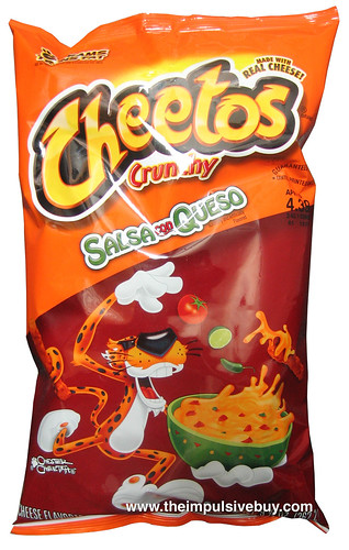 review cheetos crunchy salsa con queso the impulsive buy