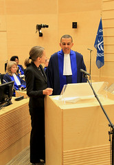 Five ICC judges sworn in today at a ceremony held at the seat of the