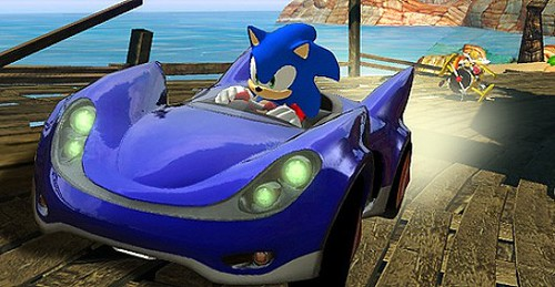Retailer Outs Sonic and SEGA All-Stars Racing 2
