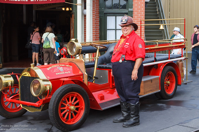 WDW Feb 2012 - Fire Chief Smokey Miller