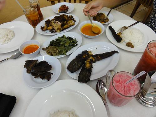 Masakan Padang at Restoran Salero Negori, Subang Jaya