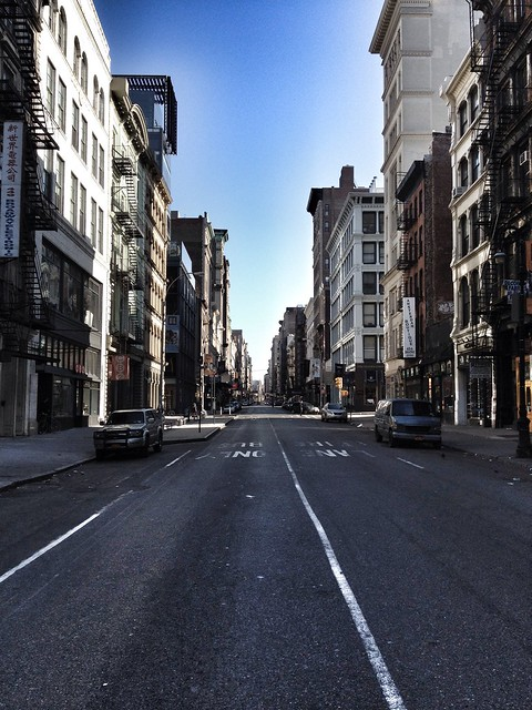 """Deserted"" 