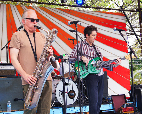 The Iguanas at SXSW 2012. Photo by Bill Sasser.