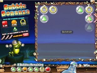 Bubble Bonanza Bonus Game