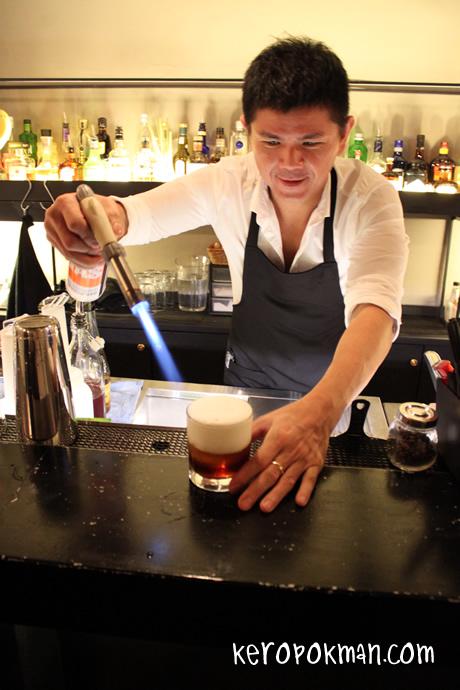 Maison Ikkoku Bar - Mixologist Ethan Leslie Leong