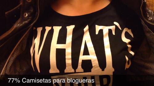 77% Camisetas para blogueras