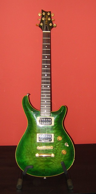 Photo:Pete Back PRS Custom Guitar By GorissM