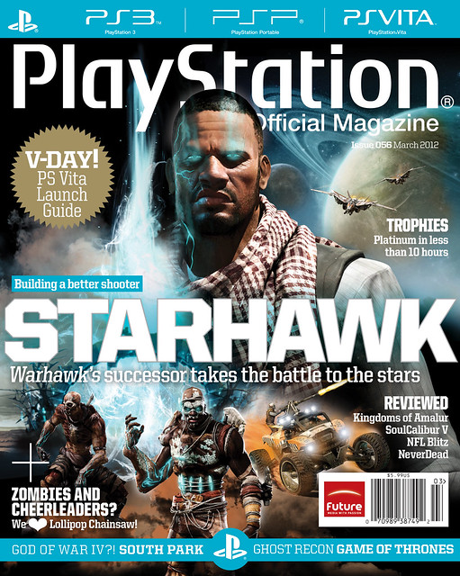 PTOM March 2012 Cover: Starhawk