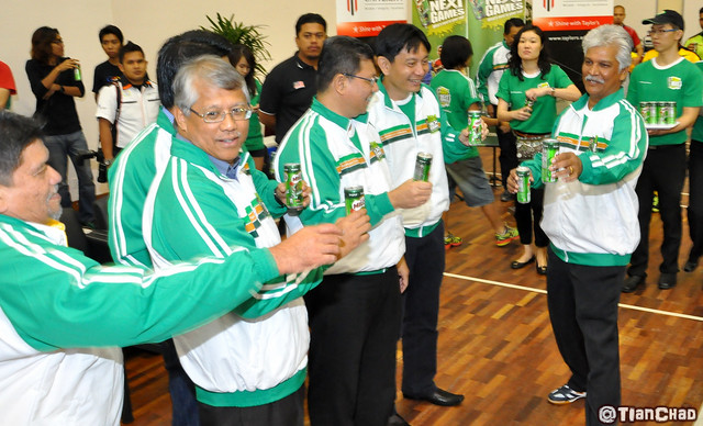 MILO Cans 3-sides Futsal Challenge 2012 Launch @ Taylor's Lakeside