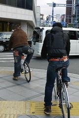 Hipster Cyclists Osaka