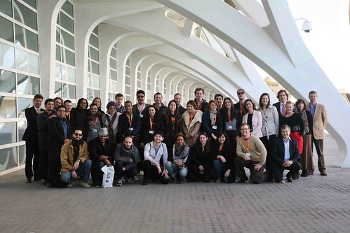 Berklee Valencia blogs - Alexis Colett - The Study Abroad students during orientation week!