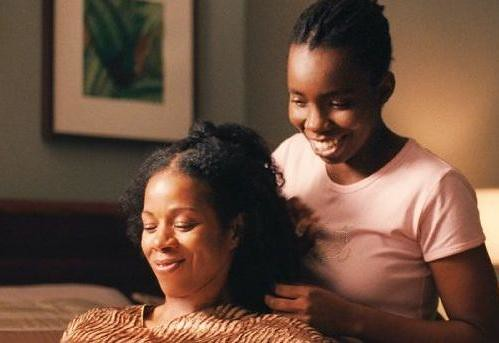 Kim Wayans with Adepero Oduye in Pariah