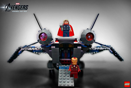 6869 Quinjet Aerial Battle 2
