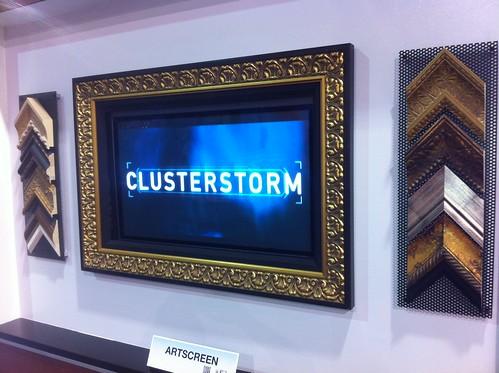 vutec artscreen at CES 20120