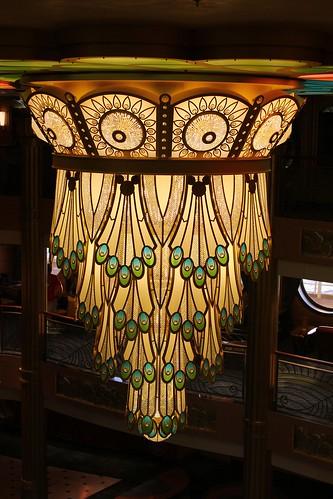 Disney Fantasy Atrium chandelier
