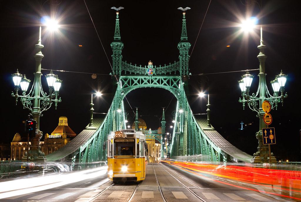 Budapest Liberty Bridge - Szabadság híd