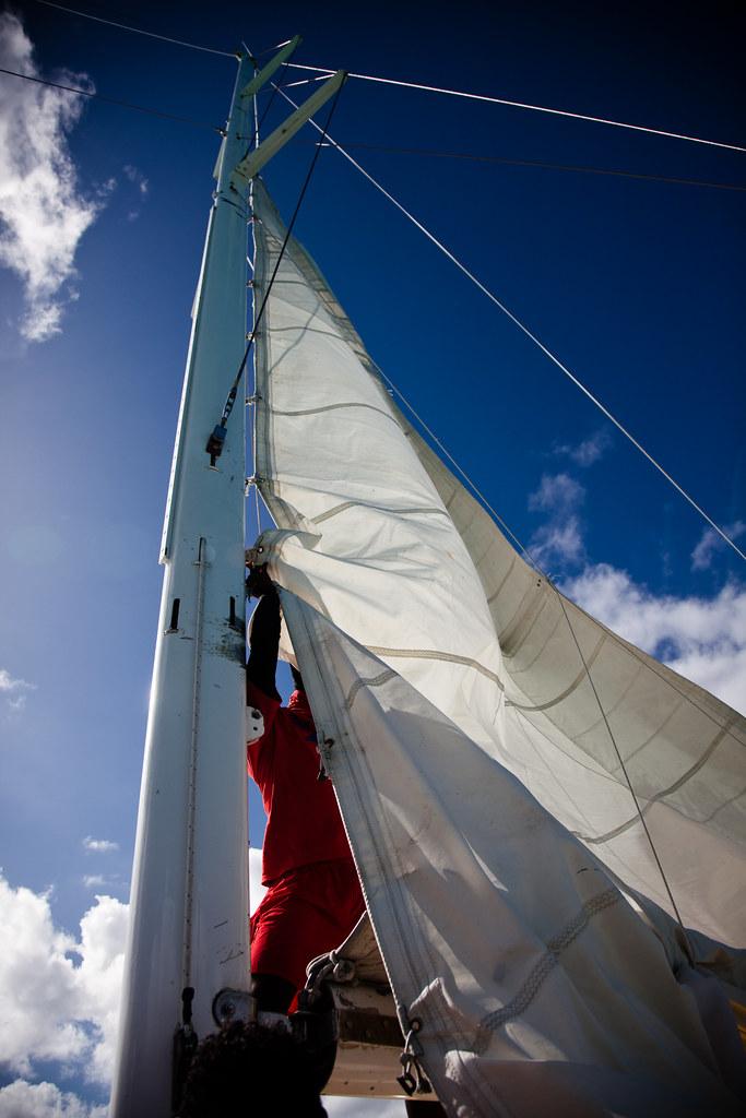 Catamaran Sail [EOS 5DMK2 | EF 24-105L@24mm | 1/4000 | f/4 | ISO200]