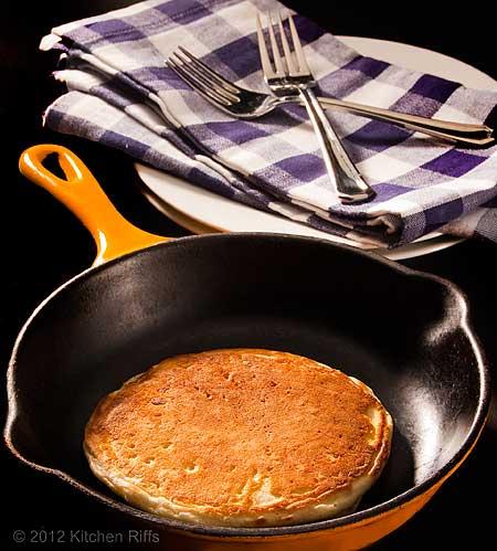 Pancake in Skillet